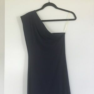 American Apparel one shoulder dress